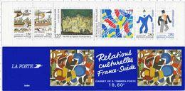 CARNET RELATIONS CULTURELLE FRANCE SUEDE 1994 - BC2872 - Neuf Non Plié - Conmemorativos