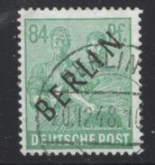 Berlin Mi 16 Gest Altprüfzeichen K1-016 - [5] Berlin
