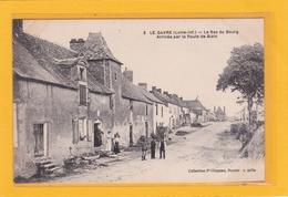 LE GAVRE -44- Le Bas Du Bourg - Arrivée Par La Route De Blain - Animation - Le Gavre