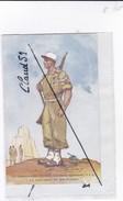 Le Légionnaire (Division Infanterie Algérienne.D.I.A.) Le Monument De Bik-Hakeim. - Uniformen
