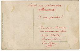 Carte Postale Saisie Sur Prisonnier Allemand Representant La Marseillaise Signée Gustave Doré 1870 Edit Rauh Leipzig - Andere