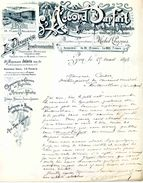 """""""L'Accord Parfait"""", Hebdo. Des Sociétés Musicales Et """"Le Progrès Instrumental"""" Publication Musicale. LYON, 1895 - Posters"""