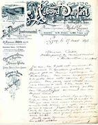 """""""L'Accord Parfait"""", Hebdo. Des Sociétés Musicales Et """"Le Progrès Instrumental"""" Publication Musicale. LYON, 1895 - Affiches & Posters"""