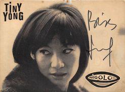 TINY YONG- - Autographs
