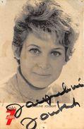 JACQUELINE JOUBERT - - Autographes