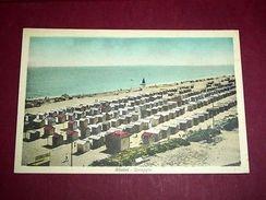 Cartolina Rimini - La Spiaggia 1930 Ca - Rimini
