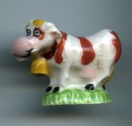 FEVES - FEVE PLATE - VACHE - Animals