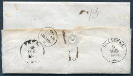 1865 Latvia Riga Bolderaja Entire - Aberdeen, Scotland. Unusual Destination With Interesting Message Written In English - Latvia