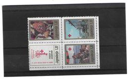 EDY 335 - YUGOSLAVIA , Il Blocco Del 1991  **  Croce Rossa - Croce Rossa