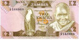 Zambia P.24a  2 Kwacha 1980  Au - Sambia