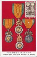 CM France - Annecy - Centenaire De La Médaille Militaire - Exposition Croix Rouge - 1952 - 1950-59
