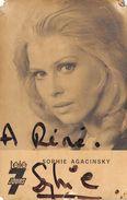 SOPHIE AGACINSKY - Autographes