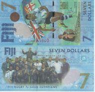 (B0109) FIJI, 2017. 7 Dollars. Commemorative Issue. P-New. UNC - Fidji