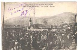 SERBIE CAMPAGNE D ORIENT 1914 1918  FLORINA LE MARCHE CENTRAL      ****    A   SAISIR **** - Serbie