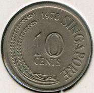 Singapour Singapore 10 Cents 1978 KM 3 - Singapour