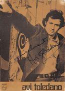 AVI TOLEDANO- - Autographes