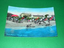 Cartolina Torre Pedrera - Alberghi Al Mare 1955 Ca - Rimini