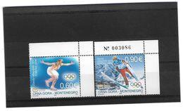 EDY 345 - MONTENEGRO 2006 , Olimpiadi Di Torino  *** - Montenegro