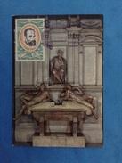 Cartolina Firenze Cappella Medicee Monumento A Lorenzo De Medici Michelangelo Buonarroti - Con Francobollo Romania - Sculture