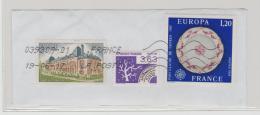 Frankreich 281 / 3 Marken Verwendet 2017 Europa, Schloss, Baum) - France