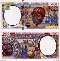 CENTRAL AFRICAN STATES   P: Chad    5000 Francs    P-604Pf       (20)00       UNC - Central African States