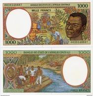 CENTRAL AFRICAN STATES   L: Gabon    1000 Francs    P-402Lg       (20)00       UNC - Central African States