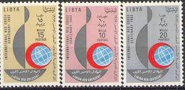 LIBYA - SET RED CROSS 1963 **/MNH Mi #130-132 - Libyen