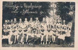 54 // JARVILLE    Carte Photo   COLLEGE DE LA MALGRANGE   Les Officiants 1920 (assis) - Autres Communes