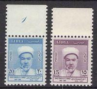 LIBYA - SET EL-SHARIF 1964 **/MNH Mi #158-159 - Libya