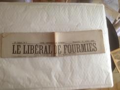 FOURMIES, Journal , LE LIBERAL DE FOURMIES, 12 Juillet 1908 - Autres