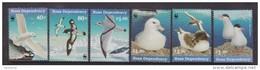 Ross Dependency 1997 Antarctic Sea Bird Set 6 MNH , 4 With WWF Emblem - Ross Dependency (New Zealand)