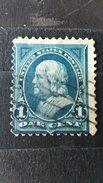 ULTRA RARE RRR 1 CENT US POSTAGE FRESH COLOR USA FRANKLIN VINTAGE UNUSED SUPERB STAMP TIMBRE - 1847-99 Unionsausgaben