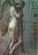 The Vatican City. St. Peter`s Basillica  Detail Stuart Tomb.  # 6553 - Vatican