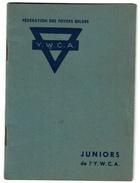 C1950 - Livret D'information Y.W.C.A. Juniors - Young Women's Christian Association - 20 Pages - 4 Scans - Organisations