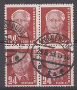 Allemagne DDR 1952  Mi.Nr: 324 Präsident Wilhelm Pieck  Oblitèré / Used / Gebruikt - DDR