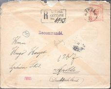 MONTENEGRO ENVELOPPE A APOLDA ALLEMAGNE AN 1893 VOIR SCAN AVEC 3 CERTIFICATIONS D'EXPERTS AU FRONT - Montenegro