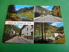 Cartolina Saluti Da Carona ( Alta Valle Brembana ) - Vedute Diverse 1970 Ca - Bergamo