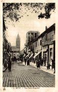 Sètif - Rue Saint-Augustin - 9x14 Cm. - 2 Photos - Sétif