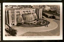 Portugal & Circulated Postal, Fonte Monumental, Lisboa To Porto 1957 (266) - Monuments