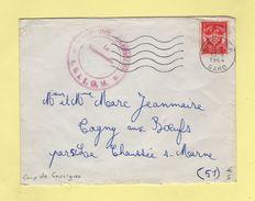 Camp De Garrigues - Gard - 13-8-1964 - FM - Marcophilie (Lettres)