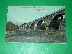 Cartolina Ferrovie Linea Del Sempione - Ponte Sul Toce Presso Domodossola 1907 - Verbania