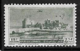 Lebanon, Scott # C155 Used Crusader Castle, 1950 - Liban