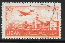 Lebanon, Scott # C168 Used Khalde Airport, 1952 - Lebanon