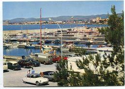 SAINT-RAPHAËL-BOULOURIS - Le Nouveau Port De Plaisance - Nombreux Véhicules - DS Citroën, Fourgon Renault - Voir Scan - Saint-Raphaël