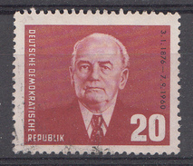 Allemagne DDR 1953  Mi.Nr: 343 Präsident Wilhelm Pieck  Oblitèré / Used / Gebruikt - [6] Repubblica Democratica