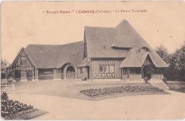 Bg - Cpa CABOURG - Sweet Home - La Ferme Normande - Cabourg
