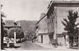 Bg - Cpsm Petit Format VIC Sur CERE (Cantal) - Avenue Fayet - Autres Communes