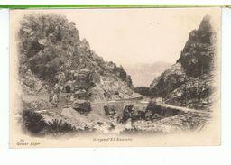 CPA-1905-ALGERIE-GORGES D'EL KANTARA- - Other