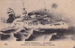 """MARINE NATIONALE """"LE BOUVET"""" CUIRASSE D'ESCADRE COULE DANS LES DARDANELLES LE 18/03/1915 (chloé10) - Weltkrieg 1914-18"""