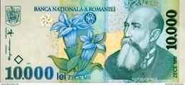 ROMANIA 10000 LEI 1999 (2001) P-108a UNC PREFIX 01 [RO108a] - Romania